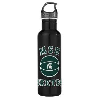 Botella De Agua Universidad de estado del baloncesto el | Michigan
