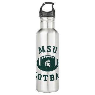 Botella De Agua Universidad de estado del fútbol el | Michigan de