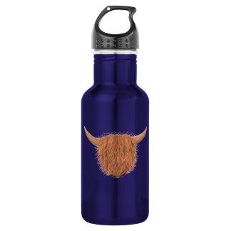 Botella De Agua Vaca melenuda de la montaña