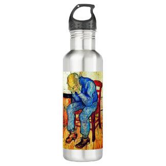 Botella De Agua Viejo hombre Sorrowing de Van Gogh