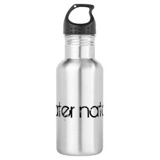Botella De Agua Waterbottle de la mamá de la nadada