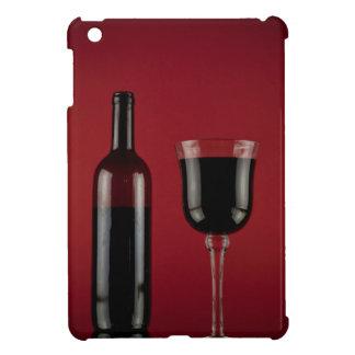 Botella de cristal del rojo de vino