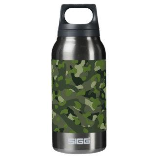 Botella Isotérmica Camuflaje perturbador de la montaña verde