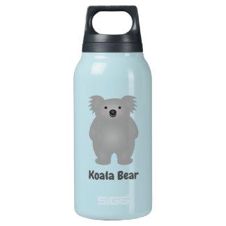 Botella Isotérmica El oso de koala lindo del bebé de Australia añade