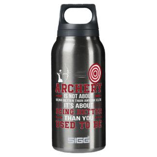 Botella Isotérmica El tiro al arco no mejor cualquier persona mejor