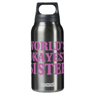 Botella Isotérmica Hermana de Okayest del mundo