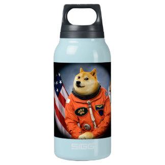 Botella Isotérmica perro del astronauta - dux - shibe - memes del dux
