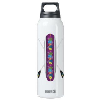 Botella Isotérmica SORBO de pie del tablero de paleta del hibisco