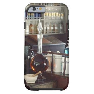 Botellas antiguas de la farmacia funda para iPhone 6 tough