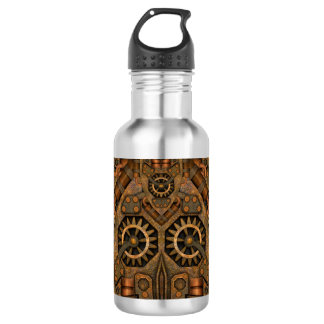 Botellas de agua de Steampunk