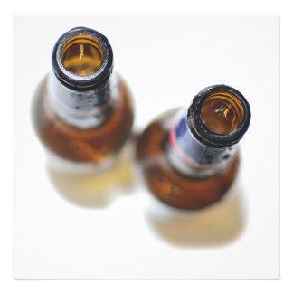 Botellas de cerveza comunicados personales