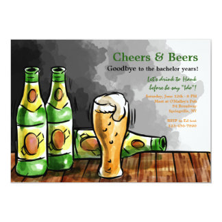Botellas de invitación de la cerveza