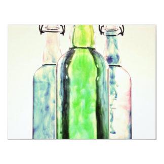 Botellas Invitaciones Personales