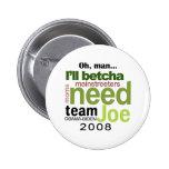 Botón 2008 de Obama-Biden Pins