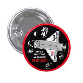 Botón 5 de las misiones de transbordador espacial
