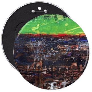 Botón abstracto de la pintura