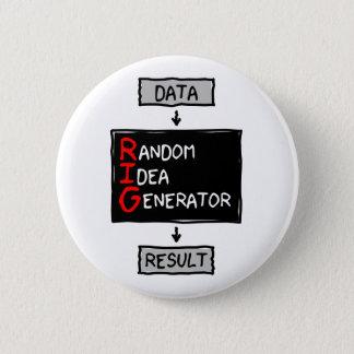 Botón al azar del generador de la idea (APAREJE