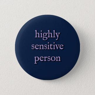 Botón altamente sensible de la persona (medio,