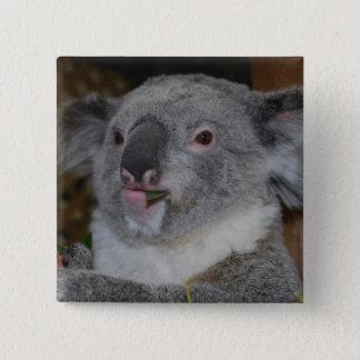 Botón amistoso de la koala