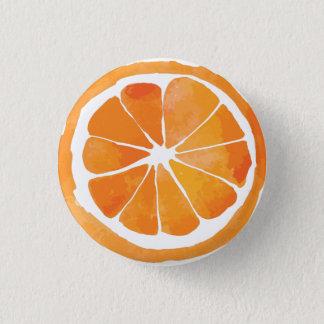 Botón anaranjado de la rebanada