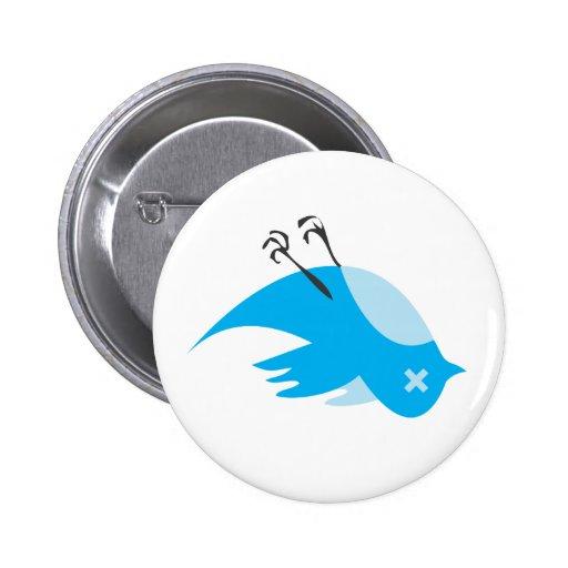 Botón anti del gorjeo pin