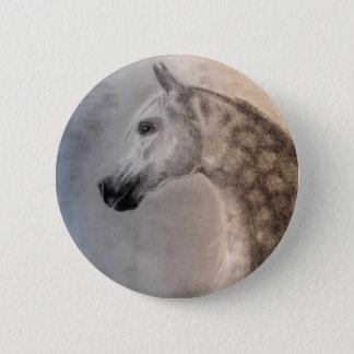 Botón árabe del caballo