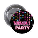 Botón atractivo del fiesta de Bachelorette de las  Pins