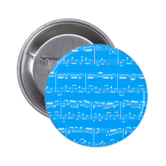 Botón azul de la partitura pins