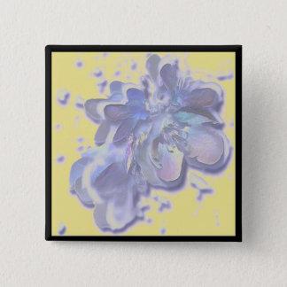 Botón azul de los flores de la flor del árbol