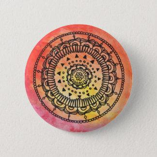 Botón caliente de la mandala por Megaflora