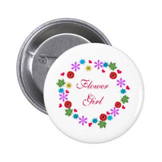 Botón caprichoso moderno de encargo del florista