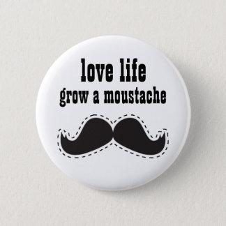 BOTÓN cariñoso del bigote de la vida