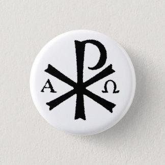 Botón católico de rho de la ji