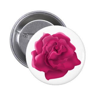 Botón color de rosa rosado