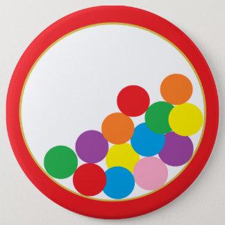 Botón colosal de la máquina de Gumball