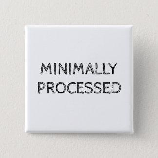 Botón como mínimo procesado