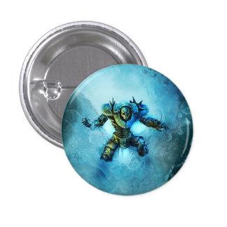 Botón congelado del caballero