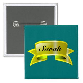 Botón conocido de la etiqueta 5 de Customizeable d Pins