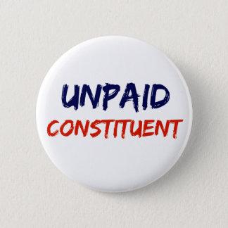 Botón constitutivo sin pagar de la protesta