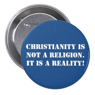 Botón cristiano de la fe