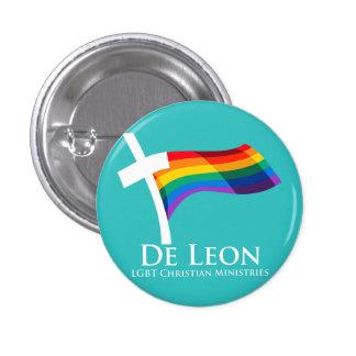Botón cristiano de los ministerios del De León