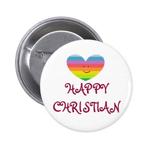 Botón CRISTIANO FELIZ Pin