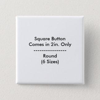 Botón cuadrado de DIY