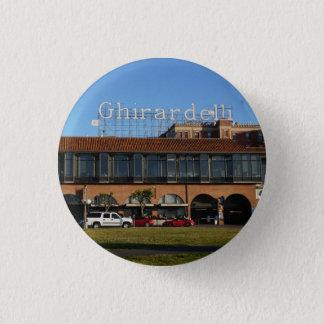 Botón cuadrado de San Francisco Ghirardelli