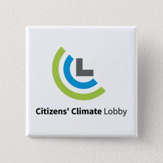 Botón cuadrado del logotipo de CCL