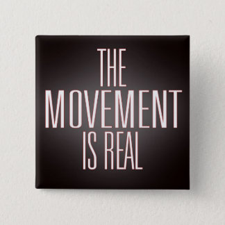 Botón cuadrado el movimiento