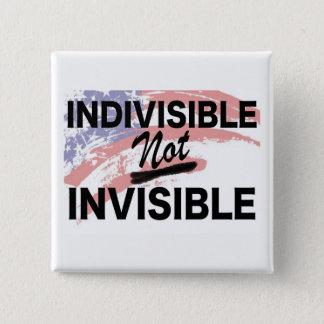 Botón cuadrado no invisible indivisible