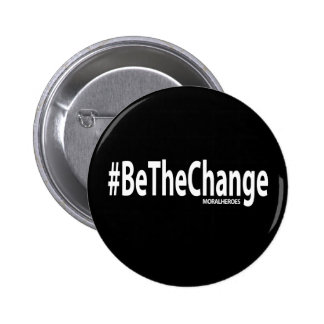 Botón de BeTheChange (negro) Pins