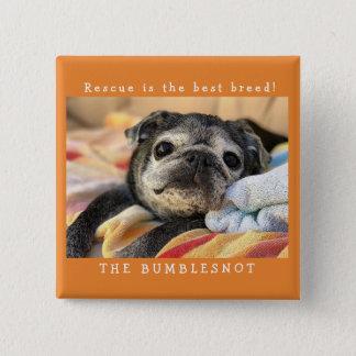 Botón de Bumblesnot: ¡El rescate es la mejor raza!
