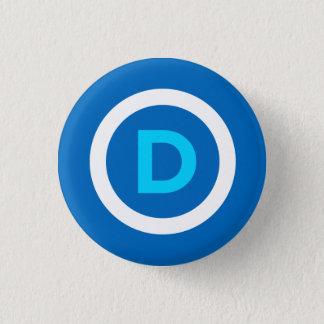 Botón de Demócrata